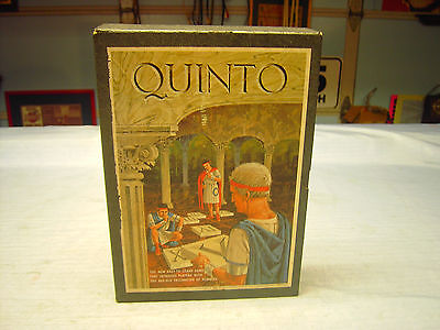QUINTO 3M Book Shelf Games Copy Right1964 By Minnesota Mining  Board Game