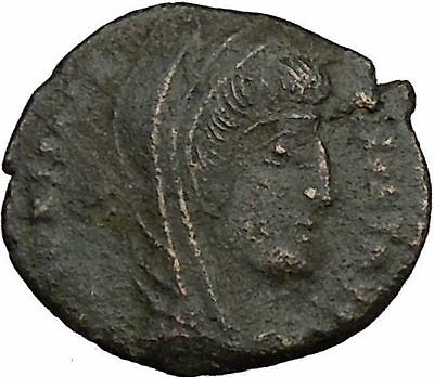 CONSTANTINE I the GREAT 347AD  Ancient Roman Coin Christian Deification  i35711