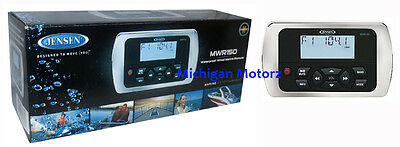 JENSEN Waterproof Wired Marine Remote - MWR150