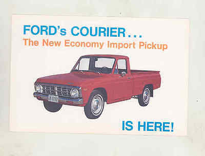 1972 Ford Courier Pickup Factory Postcard mx8504