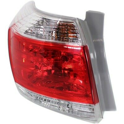Tail Light For 2011-2013 Toyota Highlander LH US Made Models w/ Bulb(s)