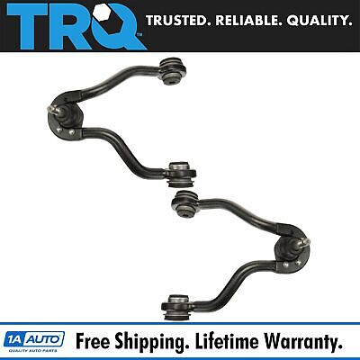 Front Upper Control Arm w Ball Joint LH RH PAIR for 88-00 4wd Chevy GMC Truck