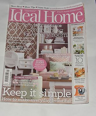 Ideal Home September 2012 - Stylish Storage/buyersc Guide To Ultrabooks