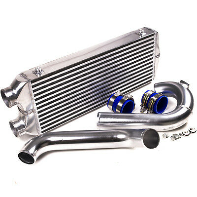 TWIN PASS ALUMINIUM FRONT MOUNT INTERCOOLER KIT FMIC FOR VW GOLF MK4 1.8 GTi