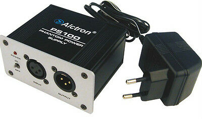Alctron PS100 phantom power supply for Condenser microphones