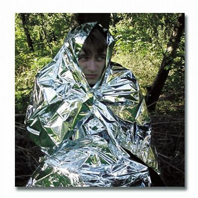 Genuine British Army Bcb Emergency Foil Space Blanket. Mountain Rescue Survival