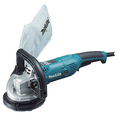 Makita PC5000C 110 Volt 125mm Concrete Planer with standard 3 pin UK plug.