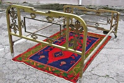 Vintage Brass Bed Size Full ? , Interlocking Frame