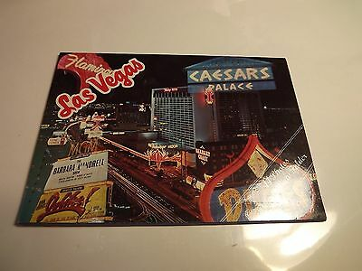 Las Vegas Hotel Casino Pull Out Booklet Folder Sands Dunes Imperial Palace