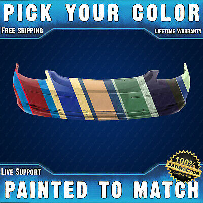 New Painted to Match - Front Bumper Cover for 2000 2001 2002 2003 Ford Taurus