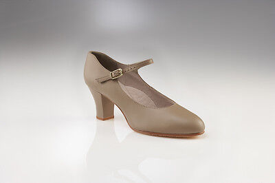 650 capezio character shoes leather new ladies dance shoes salsa jive stage