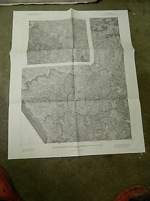 1978 Us Department Of Agriculture Soil Conservation Maps 1-2 Marin County, Ca