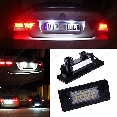 LED License Number Plate Light Lamp Bulbs BMW E39 E60 E82 E70 E90 E92 X3 X5 X6