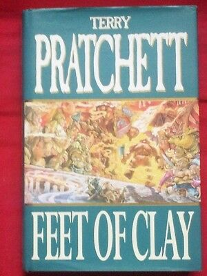 Terry Pratchett Feet Of Clay: Discworld: The City Watch Collection SIGNED 1st UK