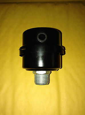 "NEW Air Compressor Intake Filter Silencer 1/2"" NPT Metal Housing HL018200AV Part"