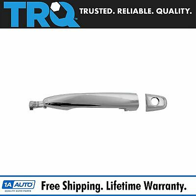 Exterior Door Handle w Keyhole Chrome Front LH RH EACH for 04-10 Sienna Tacoma