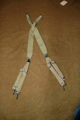 WWII US Army Airbrorne  M1936 suspenders excellent condition