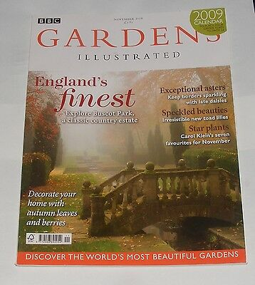 Gardens Illustrated November 2008 - Englands Finest/exceptional Asters
