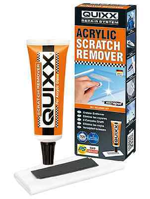 QUIXX Acrylic Car Van Motorcycle Caravan Home Scratch Scuff Key Remover Kit #QA1