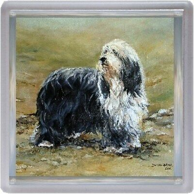 Bearded Collie Dog Coaster No 5 SH by Starprint - Auto combined postage