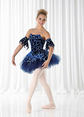 REGAL Ballet Christmas Tutu w/ Arm Sleeves Dance Costume Child XS LAST ONE!