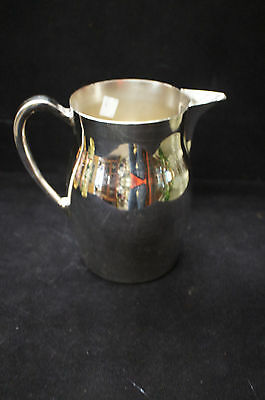 1 Beautiful Collectible Jowle Silver Plated Water Pitcher Jug Shipped