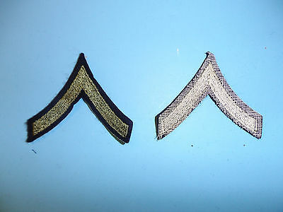 b3055 WW 2 US  Army Private First Class PFC wool pair