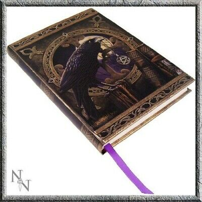 Lisa Parker Talisman Dark Raven Crow Hard Cover Embossed Collector Journal