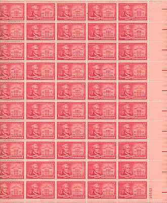 Alexander Hamilton Bicentennial Sheet of 50 x 3 Cent US Postage Stamps NEW