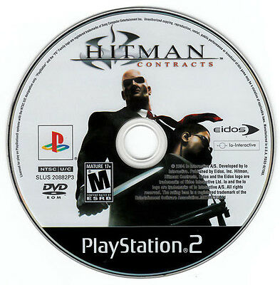 HITMAN: CONTRACTS - Sony PS2 Game! Playstation 2 Black Label