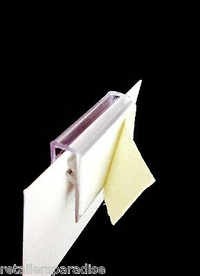 ▪Qty: 100!!▪ Sale Sign & Price Tag Holders (#1 Preferred) Retail Store Supplies