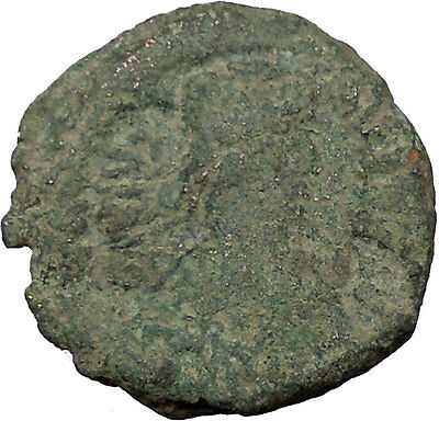 JUSTIN I 518AD Ancient  Medieval Byzantine Coin Large K   i36090