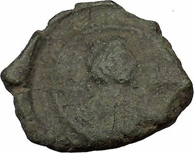 Justinian I 527AD Ancient  Medieval Byzantine Coin  Large I  i36098