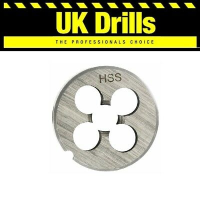 Hss Circular Die - All Sizes Listed - Top Quality - M3 - M24