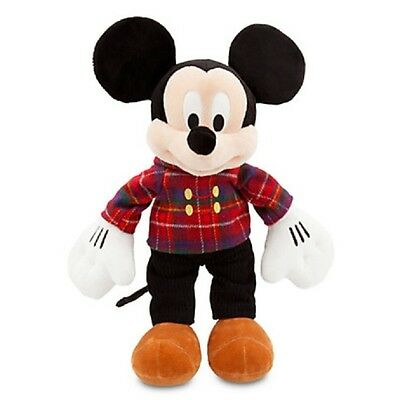 """Mickey Mouse Holiday Plush 17"""" Embroidered """"disney Store 2013"""" Logo On Foot"""