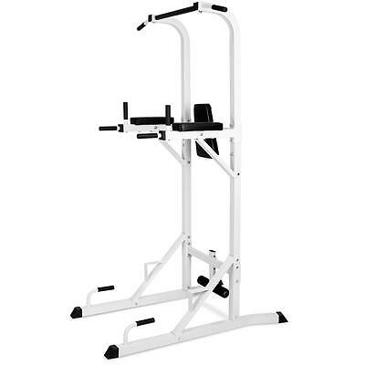 New Power Tower Station Multi Gym Pull Up Crunches Dip Sit Up Home Workout Gym