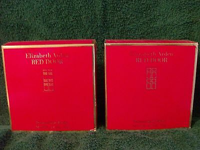 RED DOOR PERFUMED BODY POWDER 2.6 Oz X 2 By ELIZABETH ARDEN, NIB