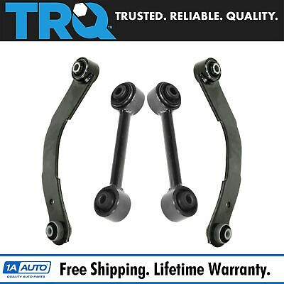 Rear Upper & Lower Control Lateral Toe Arm Set of 4 for Caliber Compass Patriot