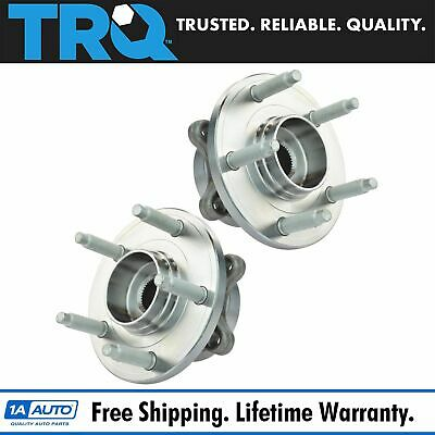 TRQ Rear Wheel Hub & Bearing Left & Right Pair Set for Ford Taurus Flex MKS MKT