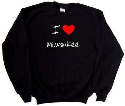 I Love Heart Milwaukee Sweatshirt