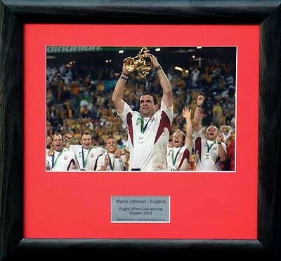 England – 2003 Rugby World Cup Champions presentation