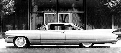 1960 Cadillac Series 62 Coupe DeVille Factory Photo J093