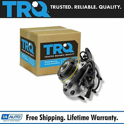 TRQ Front Wheel Hub & Bearing Left or Right for Ford F250 F350 Excursion 4x4 4WD