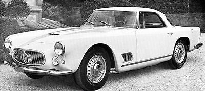 1961 Maserati 3500GT Coupe Factory Photo J1058