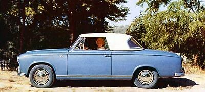 1961 Peugeot 403 Cabriolet Factory Photo J1144