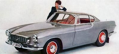 1961 Volvo P1800 Factory Photo J1256