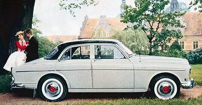 1961 Volvo 122 S Factory Photo J1261
