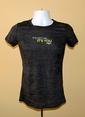 New Womens Pucker Vodka T Shirt Large It's Not Me It's You Break Up With Boring