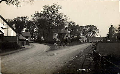 Ladykirk near Coldstream & Norham. Church at right.
