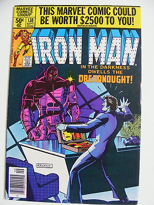Iron Man # 138 - Sep 80 -  Cents Copy Dreadnoughts!